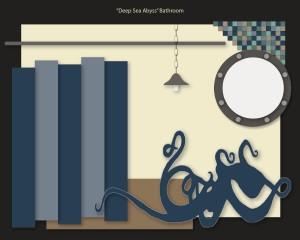 Deep Sea Abyss Bathroom